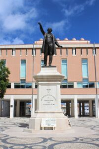 Statua di José Estevao Coelho de Magalhaes