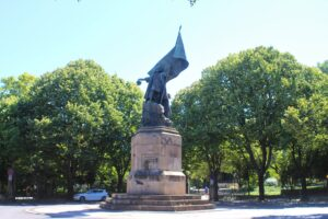 Statua di Pedro Alvares Cabral