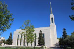 Tempio della Chiesa di Gesù Cristo dei Santi degli Ultimi Giorni - vista laterale
