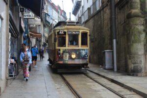 Tram storico di Porto