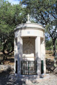 Via Crucis di Fatima - 9° Stazione - La terza caduta
