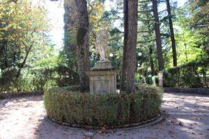 Villa de Capoa - statua