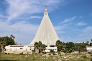 Basilica Santuario Madonna delle Lacrime - vista da lontano