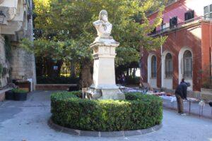Busto di Giuseppe Garibaldi