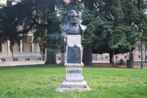 Busto per Giosuè Carducci