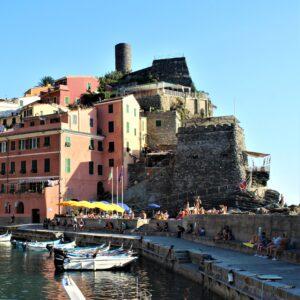 Castello Doria visto dal porticciolo