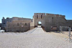 Castello Maniace - ingresso