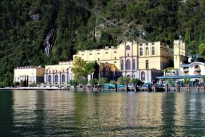 Centrale Idroelettrica di Riva del Garda - panoramica