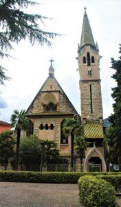 Chiesa Evangelica Luterana di Arco - vista frontale