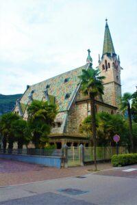 Chiesa Evangelica Luterana di Arco - vista laterale