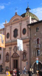 Chiesa della Santissima Annunziata - vista laterale