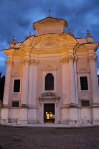 Chiesa di San Giovanni Battista a Borgo Sacco - fronte
