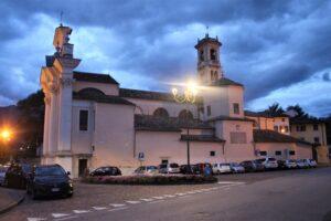 Chiesa di San Giovanni Battista a Borgo Sacco - panoramica