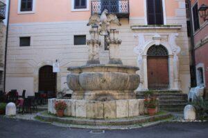 Fontana dell'Aquila Romana