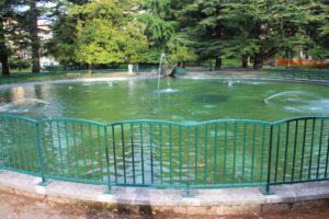 Giardini alla Pista - scorcio del laghetto