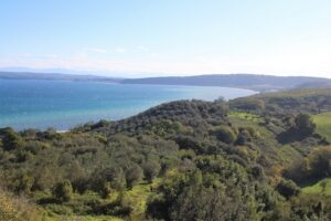 Lago di Bracciano - Vista dal Bastione della Sentinella 2