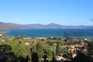 Lago di Bracciano - vista dalla Chiesa di Santa Maria del Riposo