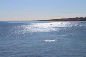 Mare di Siracusa presso la Spiaggia di Cala Rossa