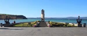Monumento ai Caduti del Mare - panoramica
