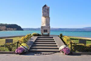 Monumento ai Caduti del mare - dettaglio