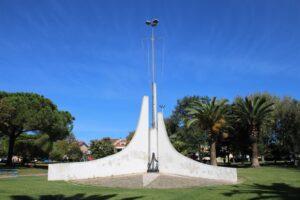 Monumento nel Parco della Resistenza