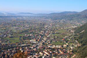 Panorama dalla zona del Castello di San Casto