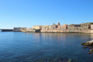 Panorama di Siracusa e del suo mare