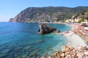 Panoramica della Spiaggia principale di Monterosso