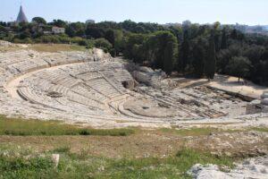 Teatro Greco - vista dall'alto