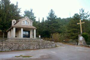 Cappella delle Apparizioni - panoramica