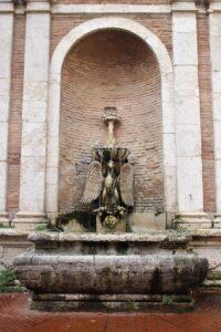 Fonte Cesia - dettaglio