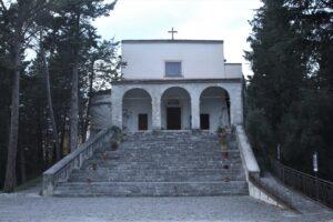 Santuario dei Santi Cosma e Damiano - fronte
