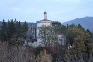 Santuario dei Santi Cosma e Damiano - retro