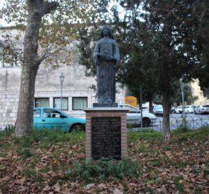 Statua di Santa Birgitta