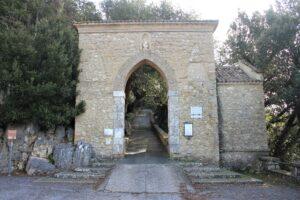 Ingresso all'area del Santuario del Sacro Speco