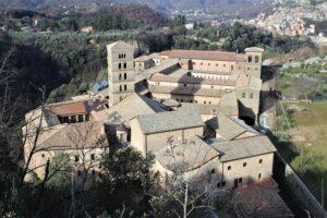 Monastero di Santa Scolastica - vista dall'alto