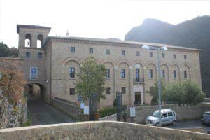 Monastero di Santa Scolastica - vista frontale