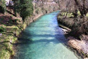 Ponte di San Francesco - Il fiume Aniene