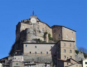 Rocca Abbaziale di Subiaco - dettaglio
