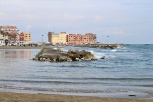 Scorcio del mare a d Anzio