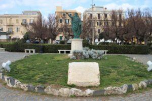 Statua di Nerone - panoramica