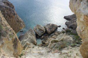 Zona di Forte Papa - il mare 1